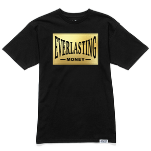 Everlasting Money Slim Fit Tee - Black Gold