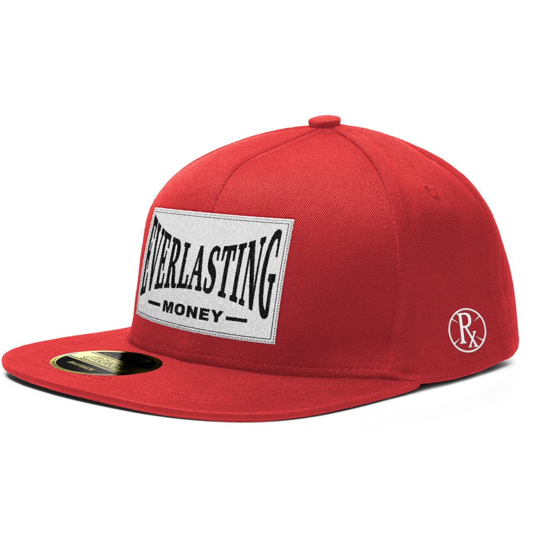 Snapback Hat - Everlasting Money - Red