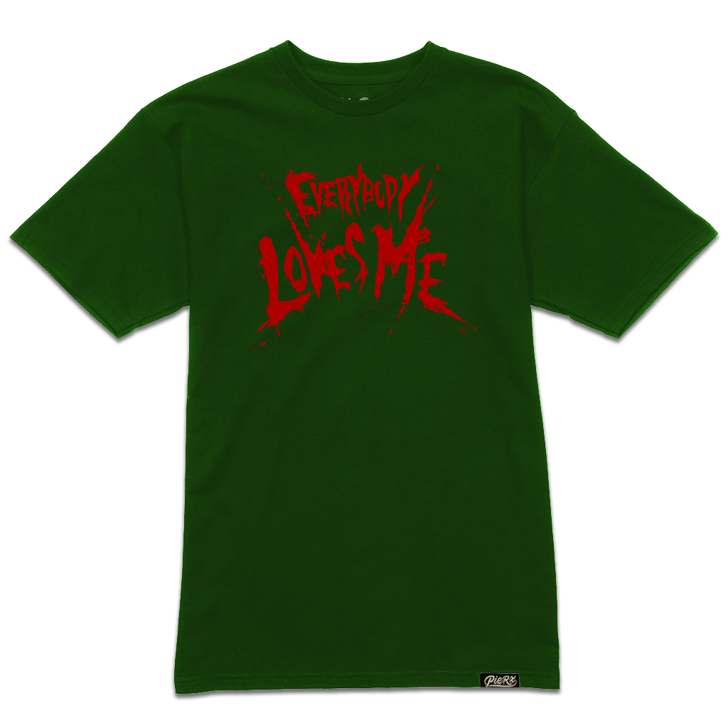 **PRE-ORDER** Everybody Loves Me Tee - Green