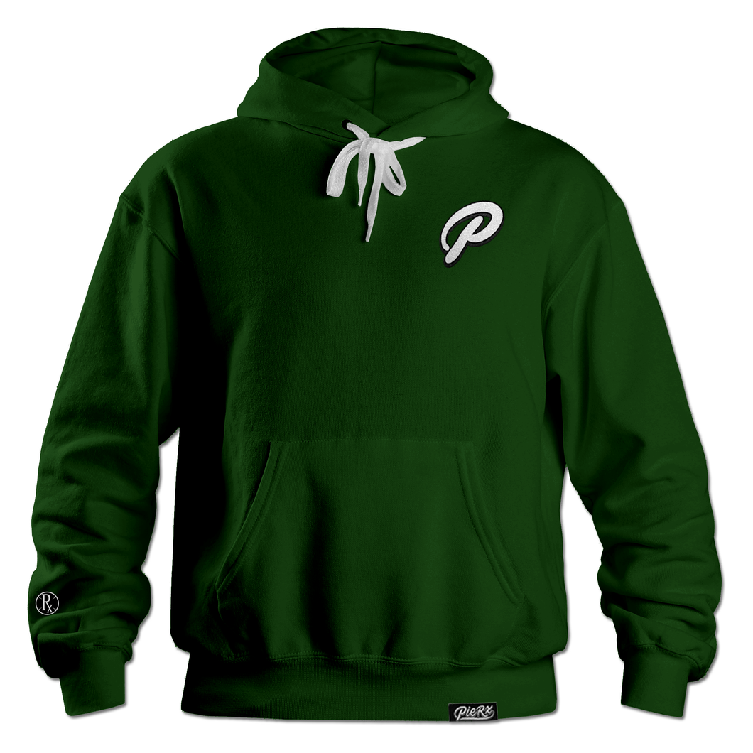 **PRE-ORDER** P Hoodie - Forest Green (LIMITED QTY)