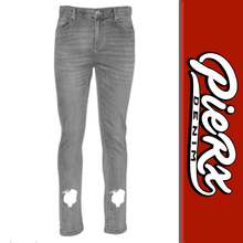 Load image into Gallery viewer, Pie-Rx Denim - Rx Wolf Silhouette Men's Jeans - Gray