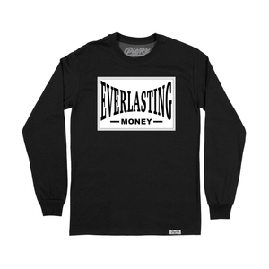 Everlasting Money Long Sleeve Shirt - Black