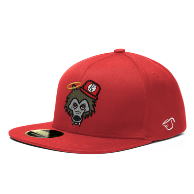 **PRE-ORDER**. Snapback Hat - RxG Wolf - Red