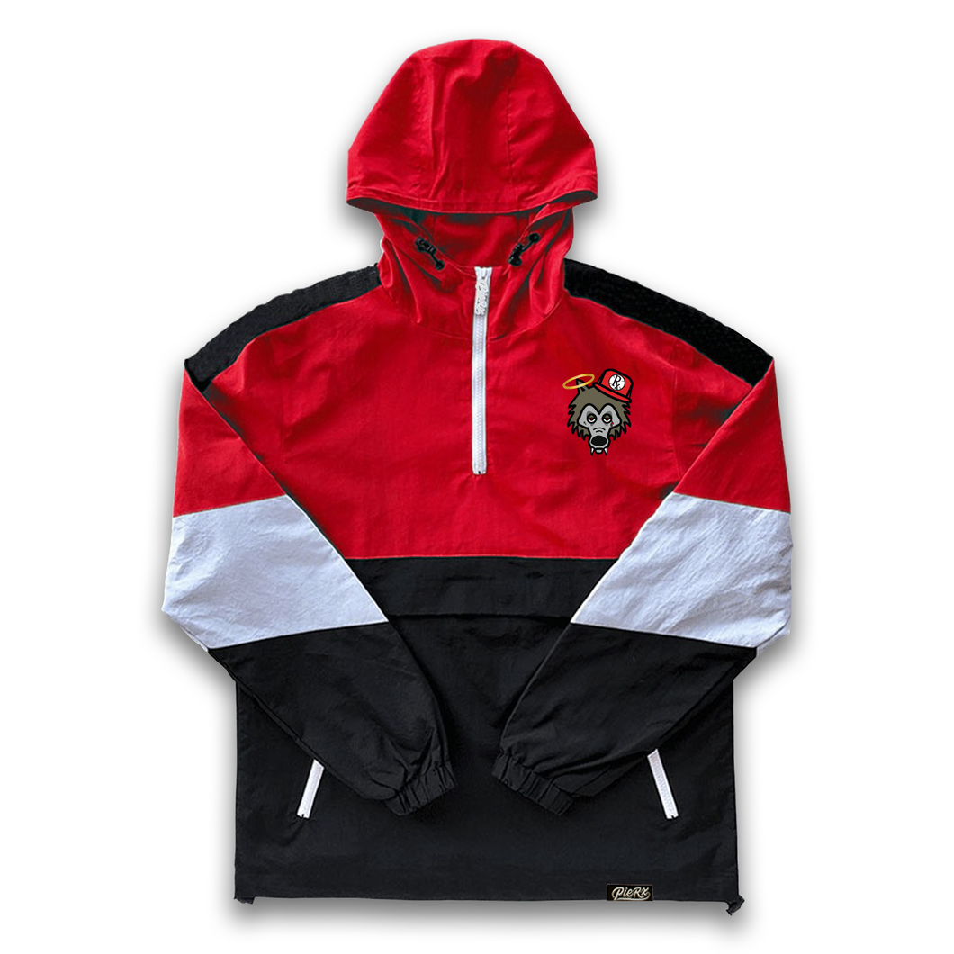 **PRE-ORDER** Rx Wolf Windbreaker - Red