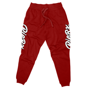 Whip Game Sweat Pants - Red