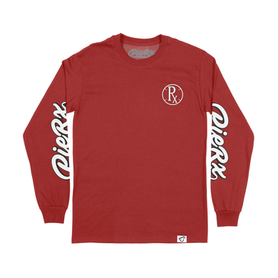 **PRE-ORDER** Whip Rx Long Sleeve Shirt - Red