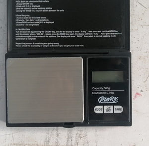 Whip Game Digital Scale - Black