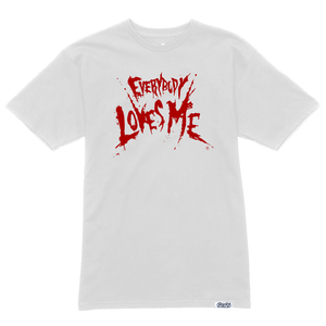**PRE-ORDER** Everybody Loves Me Tee - White