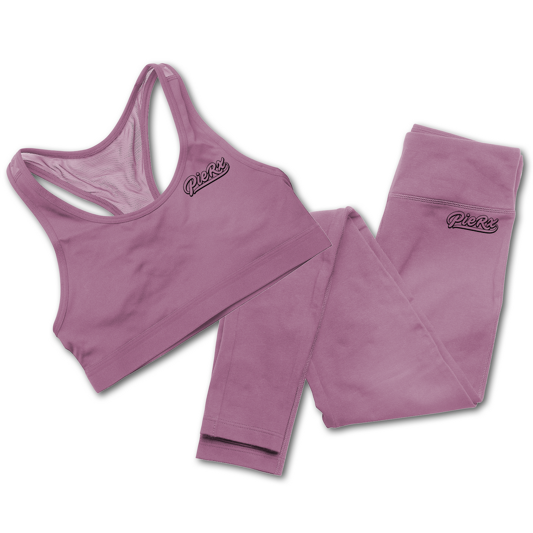 Rx Women's Whip Workout Set - Pink