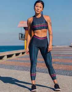 Combo: Top + Legging Royal