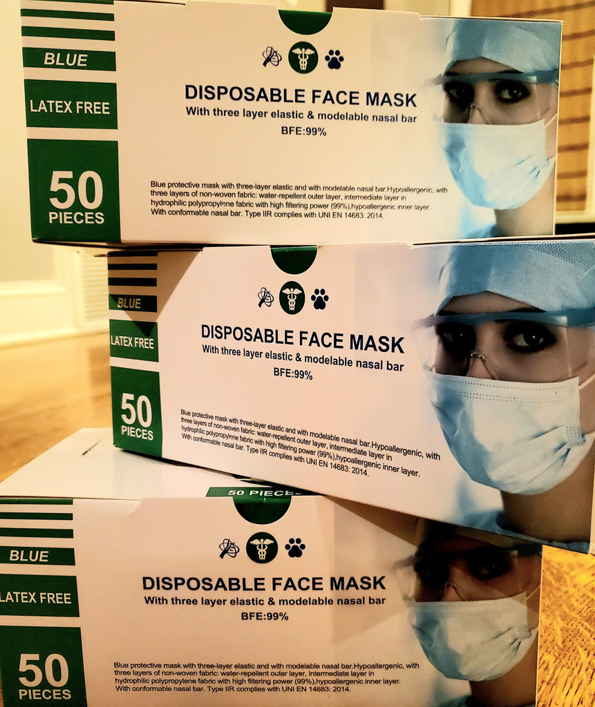Disposable Face Mask 1 Box