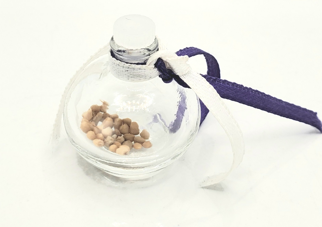 MUSTARD SEED OF FAITH PRAYER BOTTLE