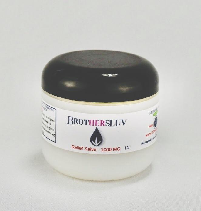BROTHERSLUV CBD Topical Relief Salve