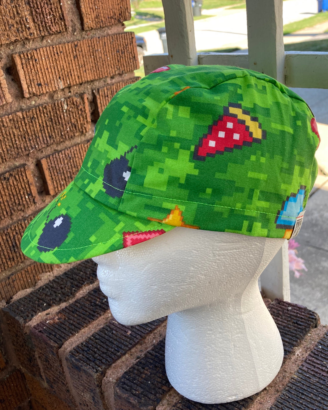 8-Bit Cycling Cap