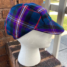 Load image into Gallery viewer, Parkside Tartan Cycling Cap