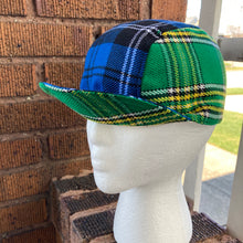 Load image into Gallery viewer, Regis Mixed Tartan Cycling Cap