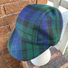 Load image into Gallery viewer, Black Watch Tartan Cycling Cap