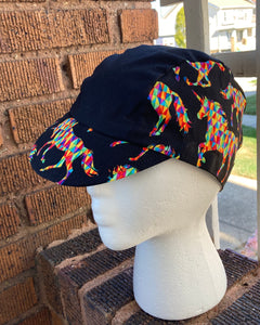 Rainbow Unicorn Cycling Cap