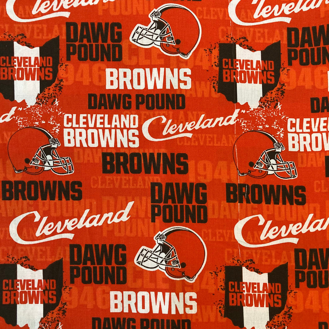Dawg Pound Cleveland Browns Mask