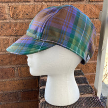 Load image into Gallery viewer, Heathered Moors Tartan Cycling Cap