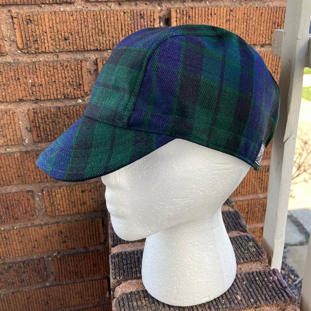 Black Watch Tartan Cycling Cap