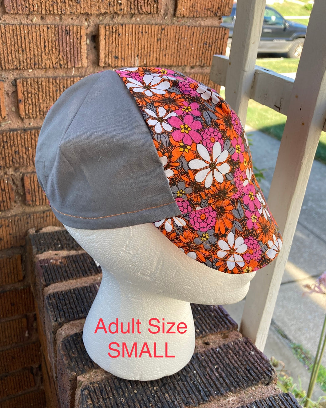Crazy Daisy 4-panel Cap