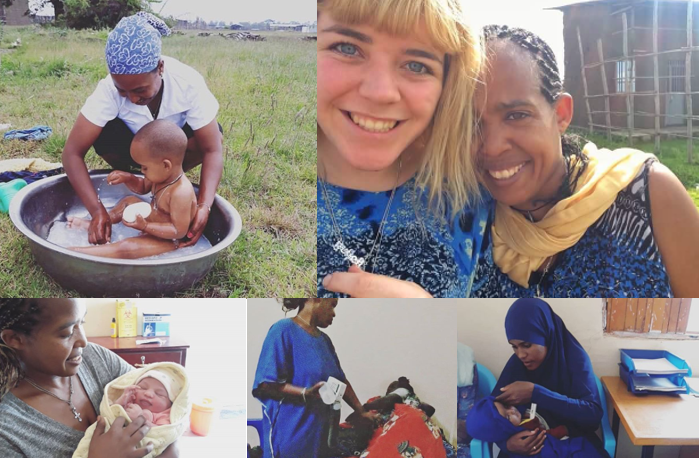 ATSEDE AND INDIE'S CLINIC - TWO INSPIRING MIDWIVES