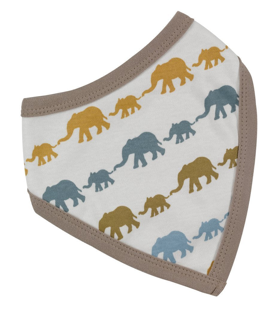 Multi-Colour Elephant Bandana Bib