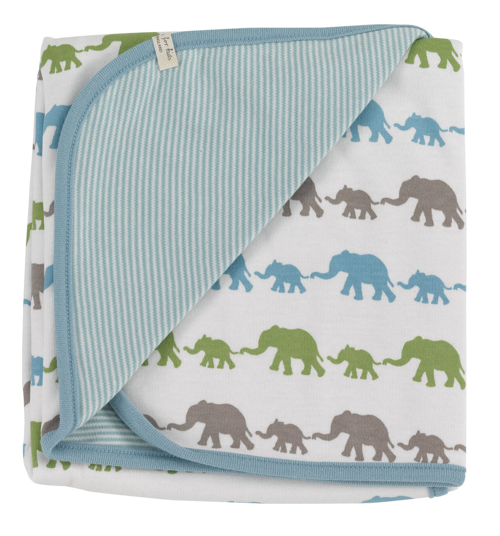 Multi-Colour Elephant Blanket
