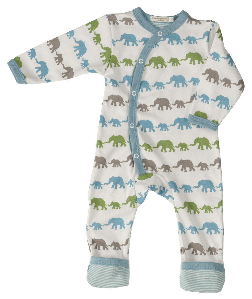 Multi-Colour Elephant Romper