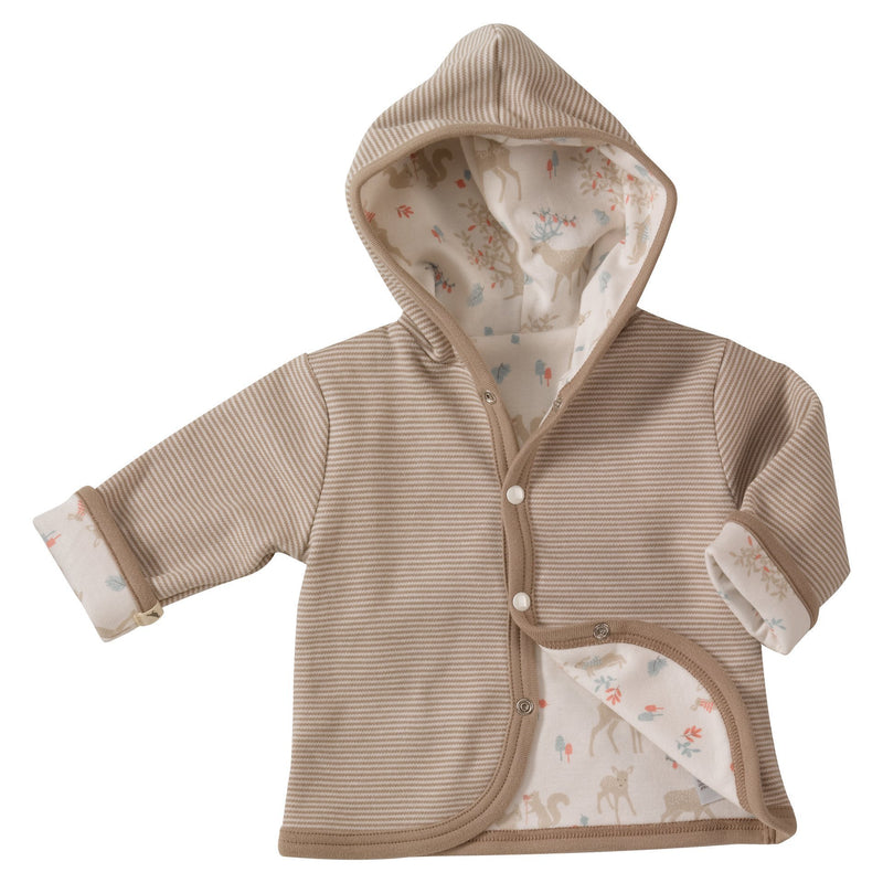 Woodland Deer Reversible Hoody