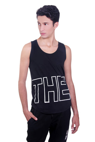 TANK-TOP RUDE FIT BLACK