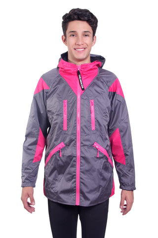 PEAK JACKET ACERO ROSA