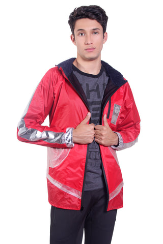 RED SPACE JACKET