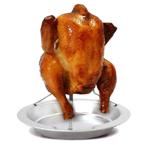 Upright Beer Can Chicken Roaster