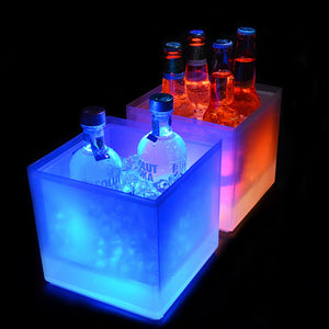 Super LED Color Changing Ice Bucket