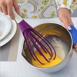 Designer Silicone Collapsible Whisk