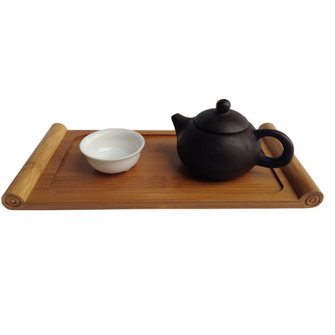 Handmade Bamboo Tea Serving Tray