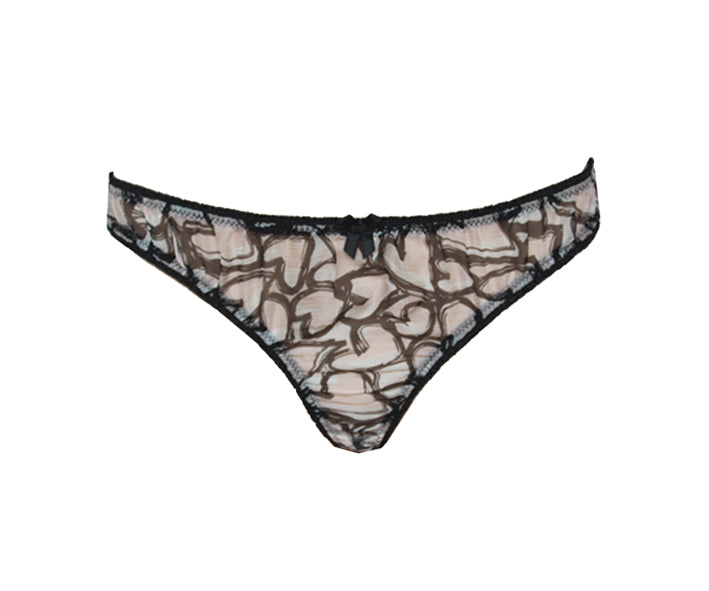 Je t'aime Frilly French Thong