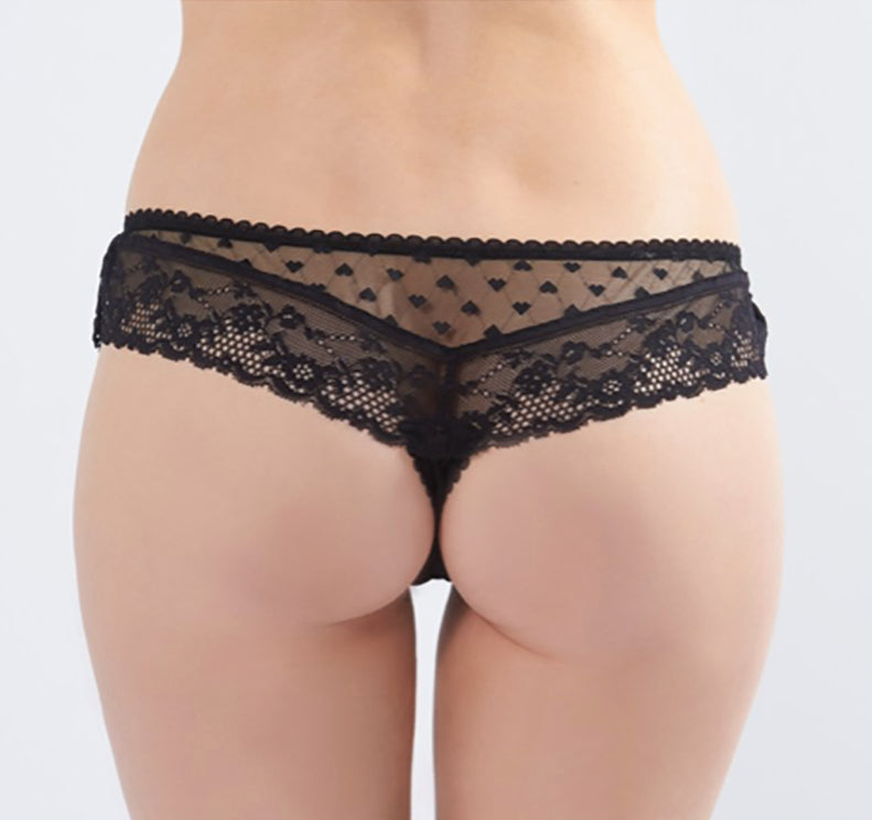 Knickerworld | Black Mini Boyshort