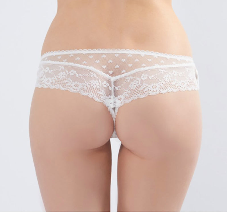 Knickerworld | White Mini Boyshort