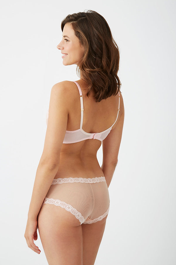 Mimosa Smooth Mesh Back Knicker by Mimi Holliday