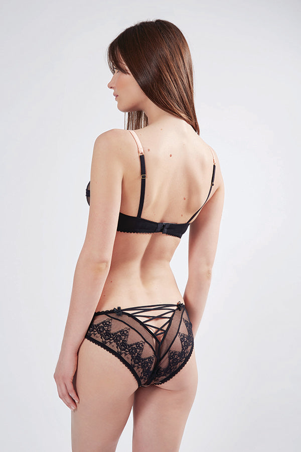 Orchid Corset Knickers | Mimi Holliday