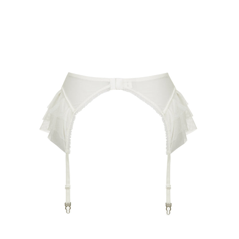 Kitty Ivory Suspenders