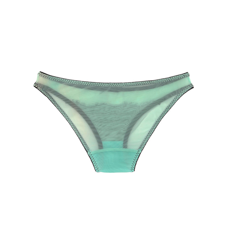 Mint Lace Brief