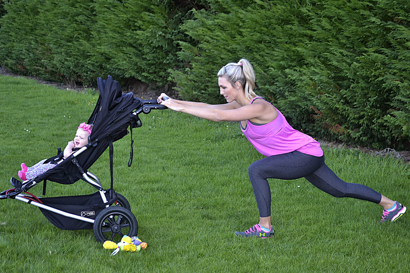 15min workout for Baby, Mum n Buggy.