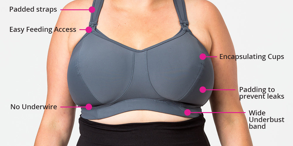 best nursing bra for large breasts