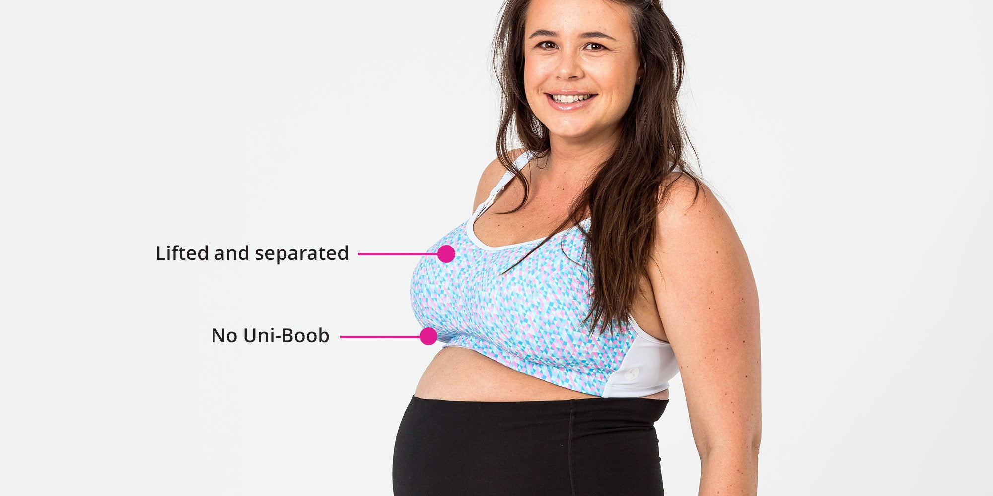 Lifted and Separated - Nursing Bras