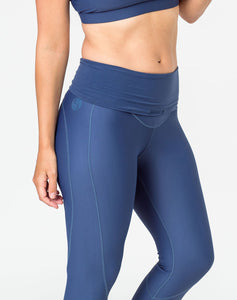 Maternity Leggings - Classic Bondi Blue