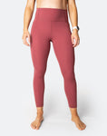 Power FIT - High Waisted Tights 7/8 Rouge